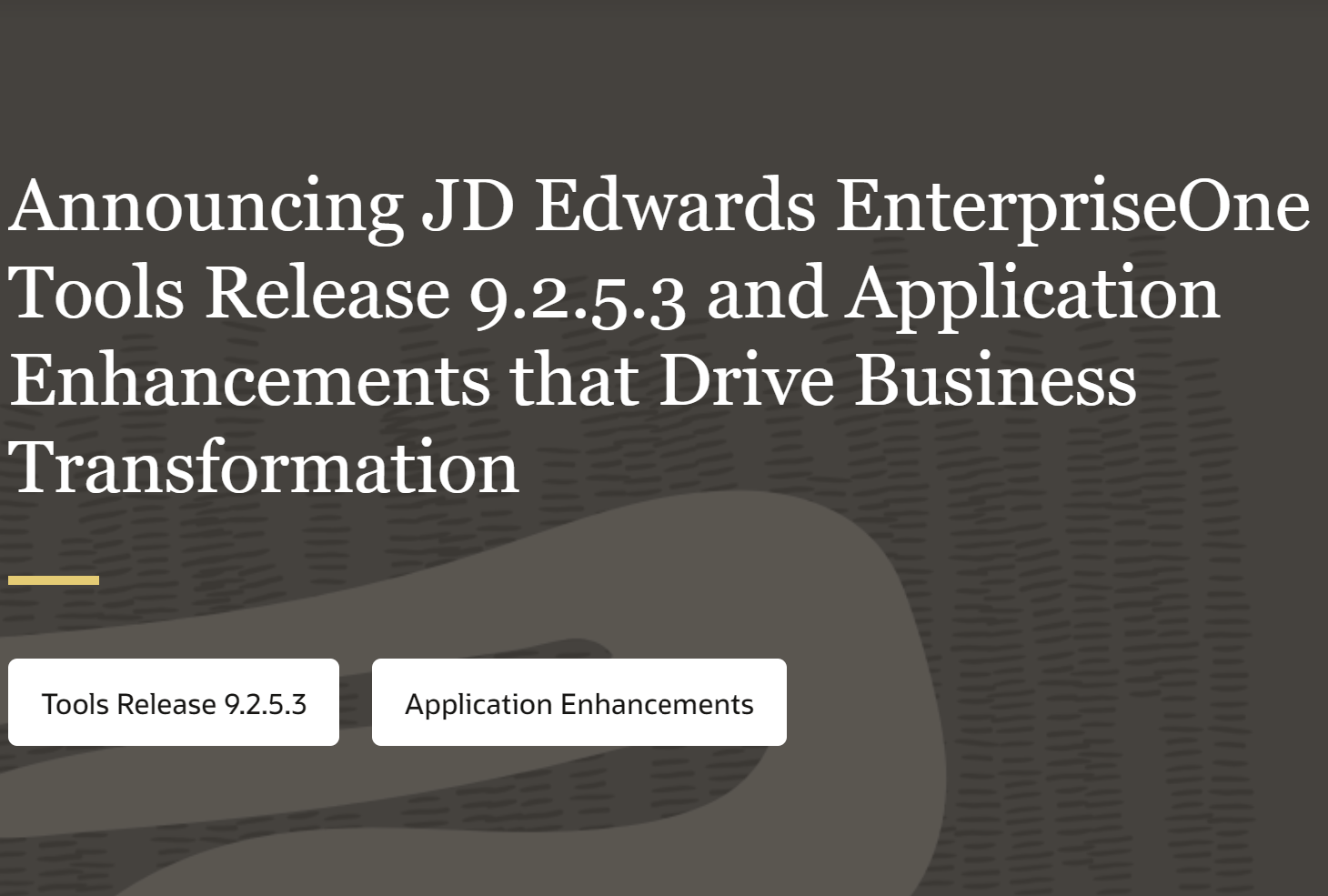 JD Edwards Announce Release 9.2.5.3