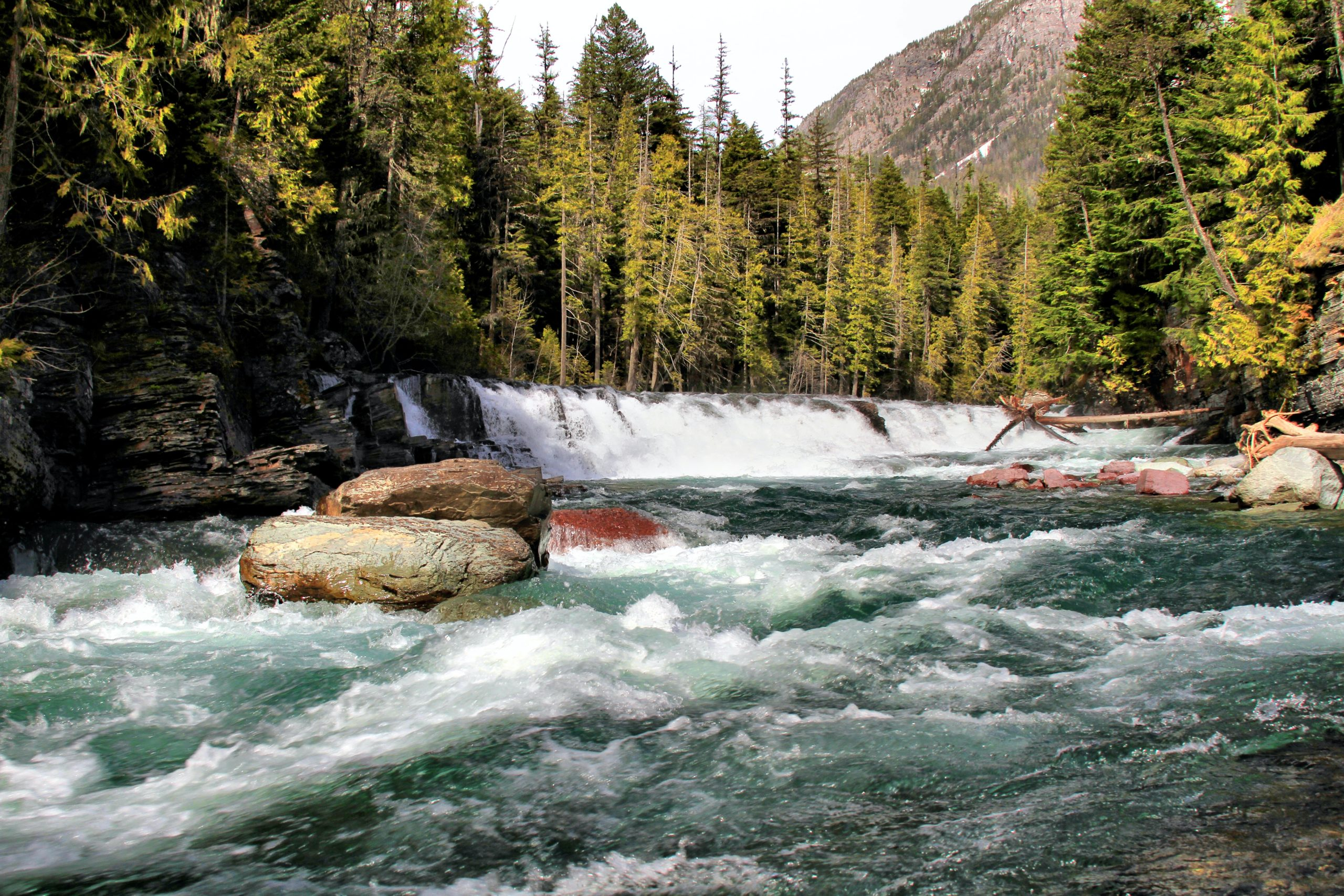 Stock photo of mountain stream by Gary Yost