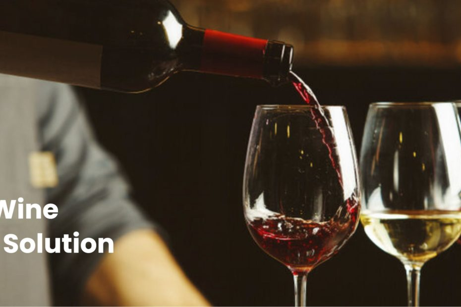 Screenshot of NuTrax for Wine website