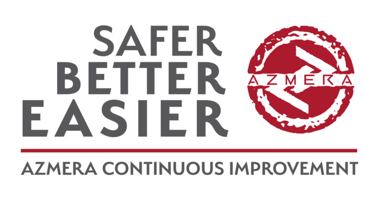 Logo fo Easier Better Safer Azmera Continuous Improvement